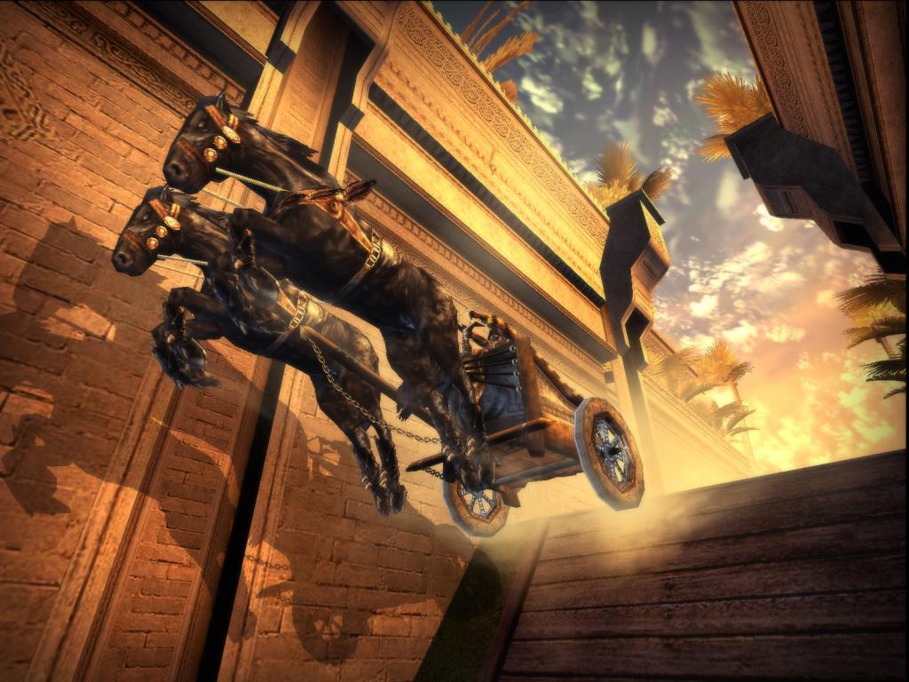 Иллюстрация 1 из 10 для Принц Персии. Два трона (PC-DVD) | Лабиринт - книги. Источник: Лабиринт