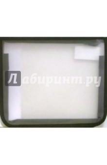 Папка для тетрадей ПТ-2А5 на молнии А5 (черная)