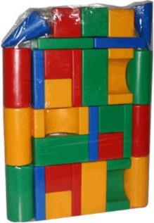 """Иллюстрация 1 из 3 для Набор кубиков """"Хуторок"""" (610)   Лабиринт - игрушки. Источник: Лабиринт"""