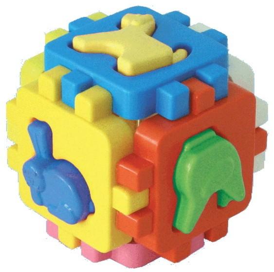 """Иллюстрация 1 из 7 для Куб """"Умный малыш. Домашние животные"""" (1943)   Лабиринт - игрушки. Источник: Лабиринт"""