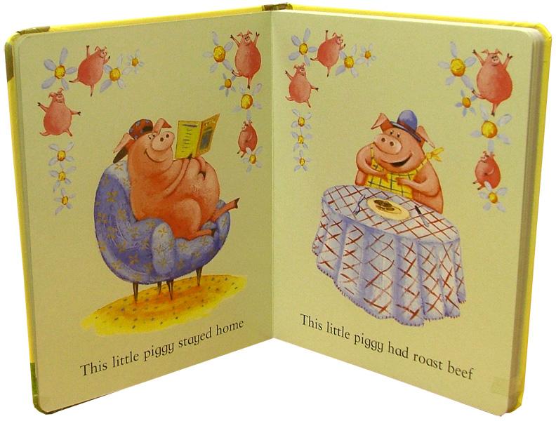 Иллюстрация 1 из 2 для This Little Piggy (+CD) | Лабиринт - книги. Источник: Лабиринт