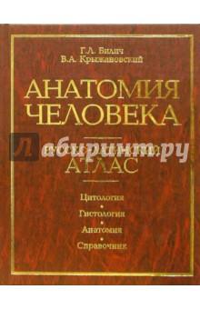 Анатомия человека. Русско-латинский атлас. Цитология. гистология. Анатомия. Справочник