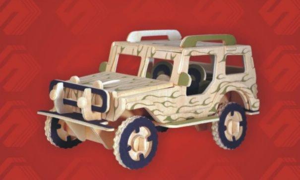 Иллюстрация 1 из 9 для Джип | Лабиринт - игрушки. Источник: Лабиринт