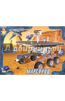 Конструктор: Марсоход. 350 деталей (Т100179)