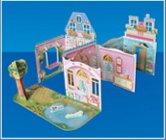Иллюстрация 1 из 18 для Домик для куклы. Книжка с наклейками - Елена Горнати | Лабиринт - игрушки. Источник: Лабиринт