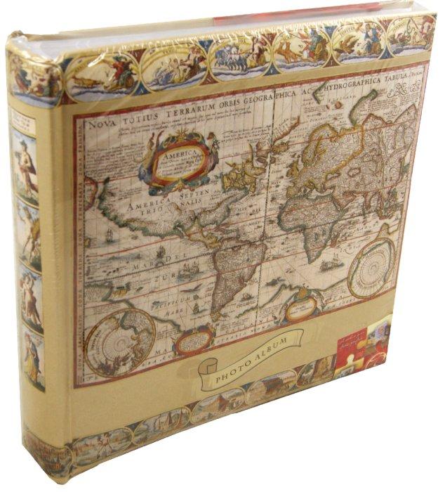 Иллюстрация 1 из 6 для 8736 Фотоальбом Antique Map (LM-4R200CPPBB) | Лабиринт - сувениры. Источник: Лабиринт