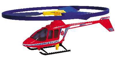 Иллюстрация 1 из 2 для 1683 Вертолет с запускающим устройством Ambulance (32х27 см) | Лабиринт - книги. Источник: Лабиринт