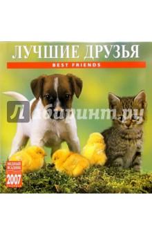 Календарь: Лучшие друзья 2007 год (07121)