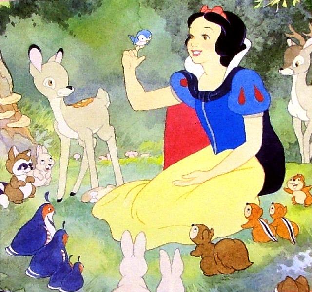 Кто рисовал белоснежку и семь гномов