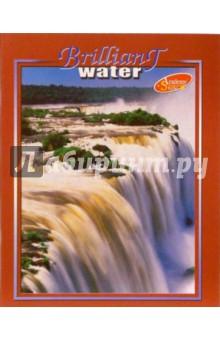 Тетрадь 48 листов линейка 577-580 (Водопады)