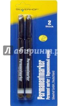 Набор маркеров перманентных. Premium (080201-10) черные
