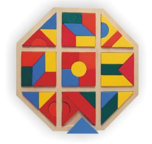 """Иллюстрация 1 из 9 для Развивающая деревянная игра """"Восьмиугольник"""" (D157)   Лабиринт - игрушки. Источник: Лабиринт"""