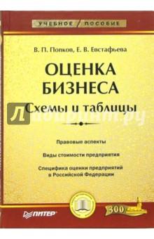 Попков Валерий, Евстафьева Е.В. Оценка бизнеса. Схемы и таблицы: Учебное пособие