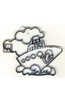 Витраж малый: Кораблик