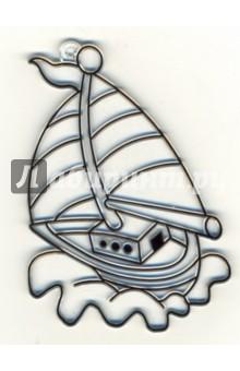 Витраж малый: Яхта