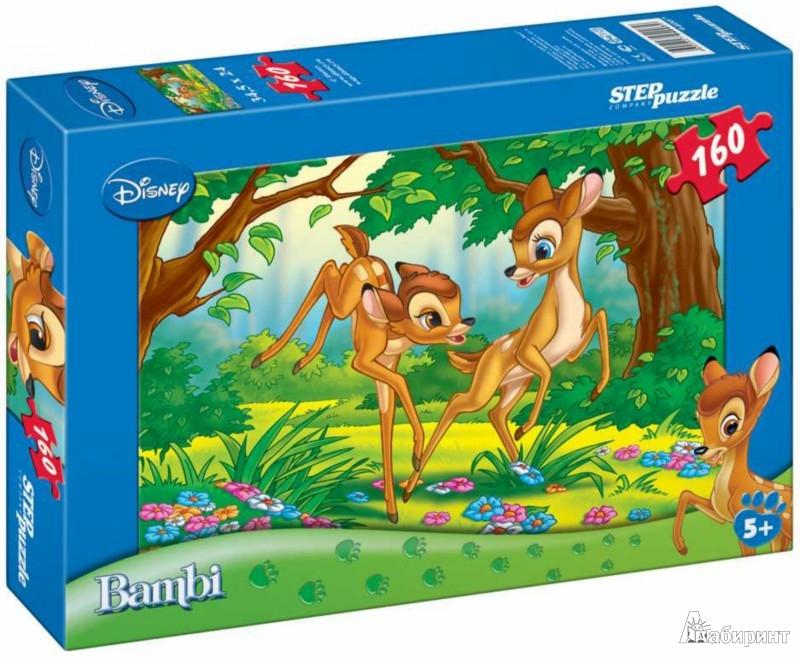 Иллюстрация 1 из 3 для Step Puzzle-160 Бемби с олененком (94007) | Лабиринт - игрушки. Источник: Лабиринт