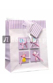 """Пакет подарочный (S-04B-0002) """"Baby-девочка"""""""