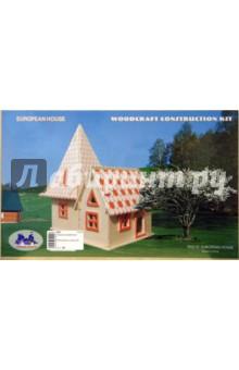 Сборная деревянная модель дача 4 ph010