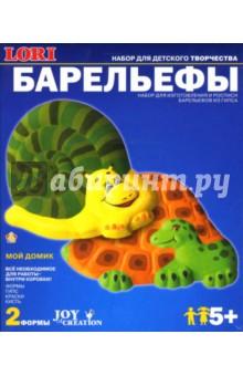Барельеф. Улитка и черепаха (Н076)