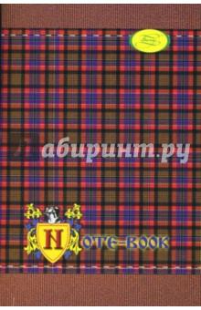 Записная книжка А6 48 листов Шотландка (22058)