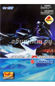 Мотоцикл Suzuki GSX-R 1000 1:12 (39057)