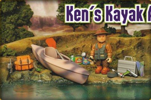 Иллюстрация 1 из 3 для Приключения Кена на байдарке (8575)   Лабиринт - игрушки. Источник: Лабиринт
