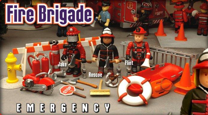 Иллюстрация 1 из 3 для Пожарная бригада (8611) | Лабиринт - игрушки. Источник: Лабиринт