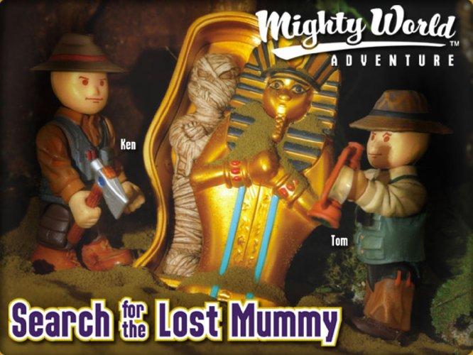 Иллюстрация 1 из 3 для В поисках потеряной мумии (8613) | Лабиринт - игрушки. Источник: Лабиринт