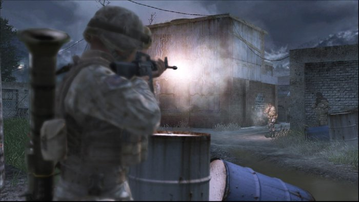 Иллюстрация 1 из 11 для Call of Duty-4 (DVDpc)   Лабиринт - софт. Источник: Лабиринт