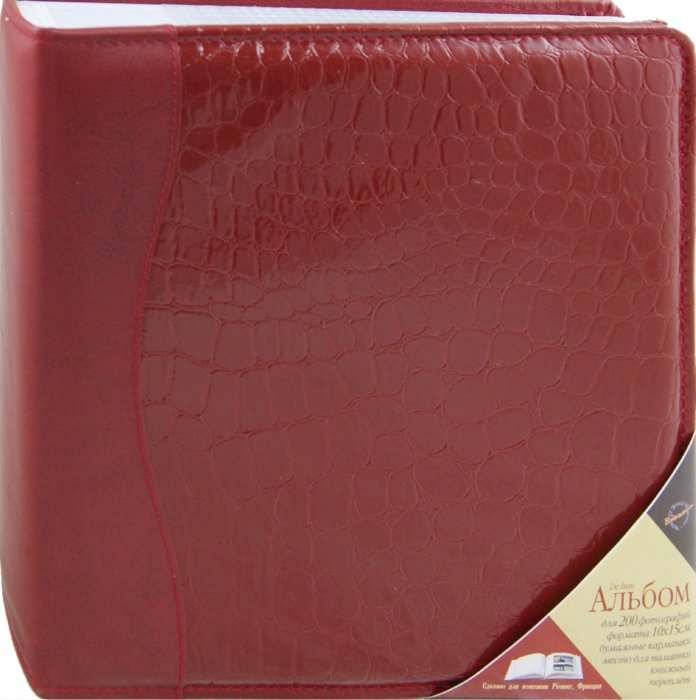 Иллюстрация 1 из 4 для 5918 Фотоальбом  Elit Leather Collection (642200ВВ)   Лабиринт - сувениры. Источник: Лабиринт