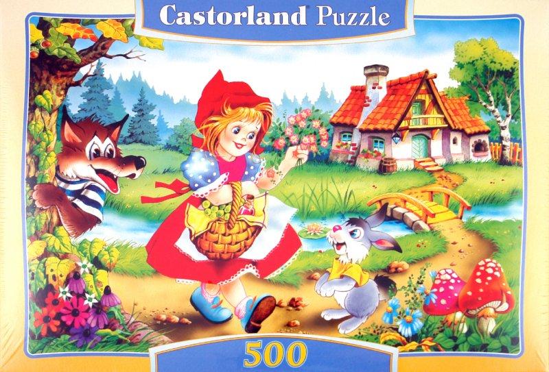Иллюстрация 1 из 7 для Puzzle-500. Красная Шапочка (В-50680) | Лабиринт - игрушки. Источник: Лабиринт