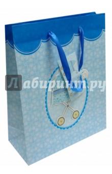 """Пакет подарочный """"Baby Carriage Blue"""" Iceberg"""
