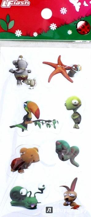 Иллюстрация 1 из 6 для Наклейки детские 3D Sticker, объемные (в ассортименте) | Лабиринт - игрушки. Источник: Лабиринт