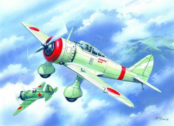 Иллюстрация 1 из 2 для 72202 Ki-27b Японский истребитель   Лабиринт - игрушки. Источник: Лабиринт