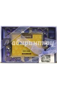 Набор: 05А0143 Рамка, 1 свеча, сиреневый