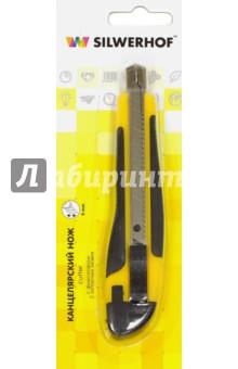 Нож канцелярский, 2 запасных лезвия (460041) Silwerhof