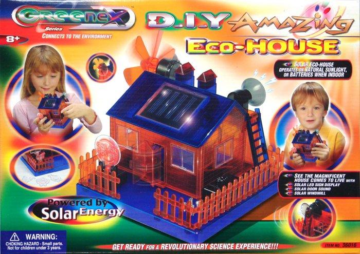 """Иллюстрация 1 из 2 для Сделай сам """"Эко-дом"""" на солнечных батарейках (36016)   Лабиринт - игрушки. Источник: Лабиринт"""