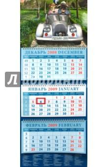 Календарь 2009 Двое в машине (14804)
