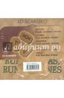 Руны деревянныеГадания. Карты Таро<br>Руны деревянные.<br>Для смыслового толкования с помощью рунических символов.<br>Упаковка: картонная коробка.<br>Производство: Италия<br>