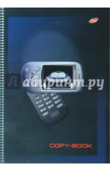 Тетрадь 80 листов А4 (3884/2) Черные мобилы