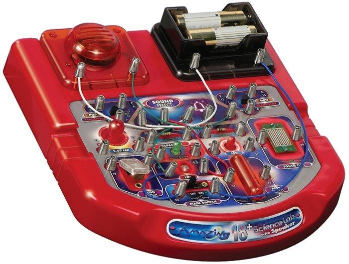 Иллюстрация 1 из 2 для Научный стенд со звуковым эффектом (18 опытов) (32019)   Лабиринт - игрушки. Источник: Лабиринт