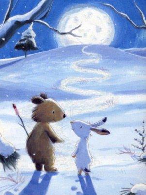 Иллюстрация 1 из 24 для Мишка, зайка и луна - Лобель, Ворнс | Лабиринт - книги. Источник: Лабиринт