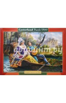 Puzzle-1500. Лодка-живопись (С-150601)