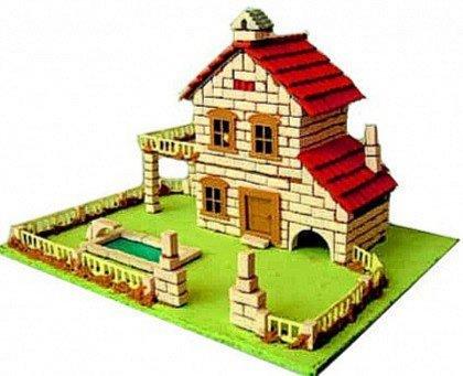 Иллюстрация 1 из 6 для Строим город. Дом с бассейном | Лабиринт - игрушки. Источник: Лабиринт
