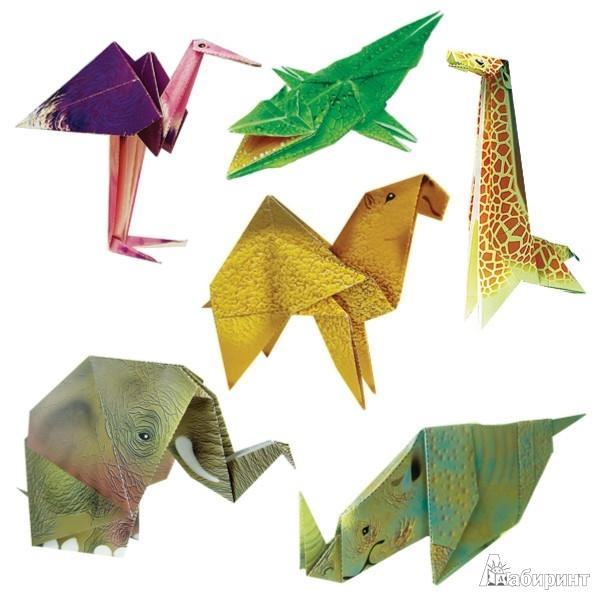 Иллюстрация 1 из 21 для АБ 11-301 Африка (оригами) | Лабиринт - игрушки. Источник: Лабиринт