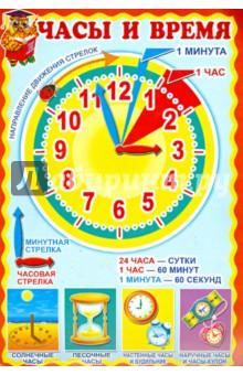 """Плакат """"Часы и время"""""""