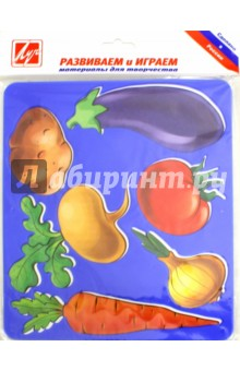 """Трафарет пластмассовый """"Овощи"""""""