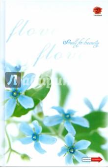 Ежедневник А5 128л Цветы