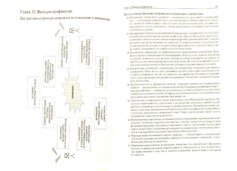 Конфликтология в схемах и