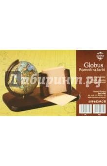 Подставка деревянная с глобусом и подставкой для бумаги Zachem